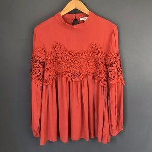 Jodifl Crochet Boho Tunic